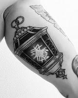 candlelamp tattoo