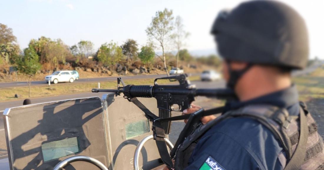 Bloqueos y quema de vehículos en la entidad fueron en reacción a operativos, dice la SSP de Michoacán