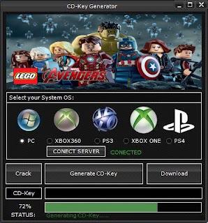 LEGO MARVEL's Avengers CD Key Generator (Free CD Key)