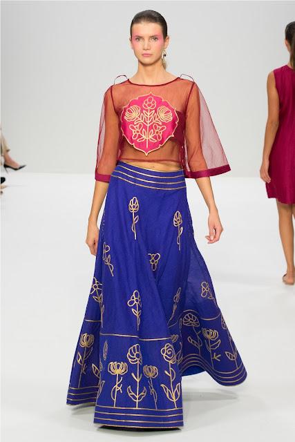 London Fashion Week: Indian Fusion Festive by Priyanka Khosla