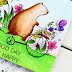 A GOOD DAY. Card for CaSometry. Waffle Flower