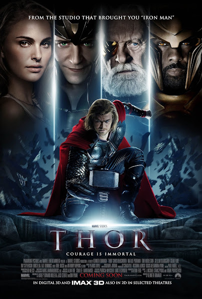 Poster Of Thor 2011 720p BluRay Dual Audio