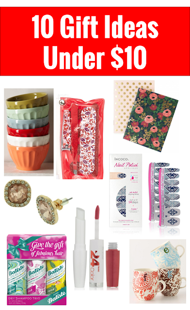 10 Gift Ideas for Her Under $10