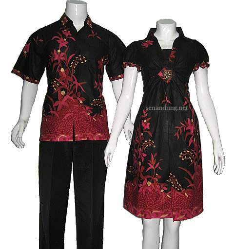 Contoh Gambar Baju Batik Modern: Model Baju Batik Modern Terbaru Yang Sedang Trend