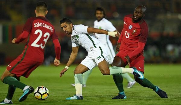 cuplikan gol portugal vs saudi arabia 3-0