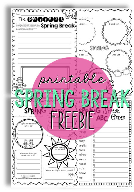 https://www.teacherspayteachers.com/Product/Spring-Break-Mini-Pack-of-Fun-Activities-215566