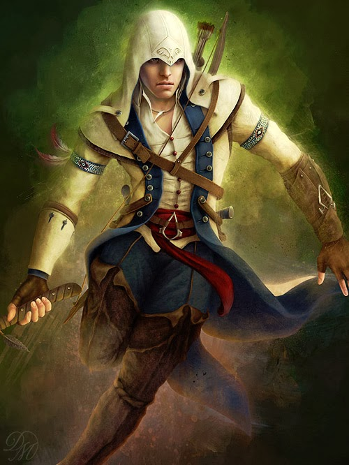 D I S A N T H U S C O M Assassin S Creed 3 Fan Art