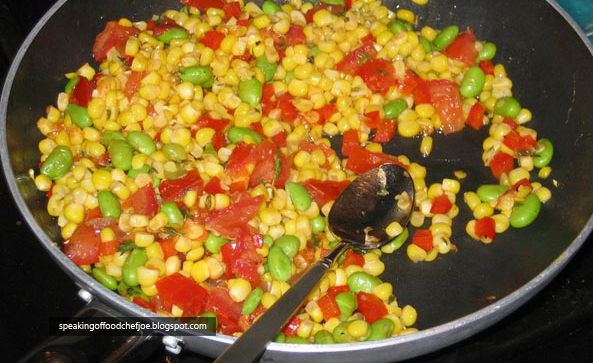 Native american succotash recipe special speaking of food chef joe native american succotash recipe special forumfinder Gallery