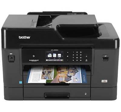 The Brother Business Smart Plus Series Color Inkjet All Brother MFC-J6930DW Driver Downloads