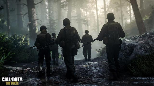 الكشف عن أول صورة من قوائم لعبة Call of Duty : WWII و تأكيد وجود طور Ranked Match
