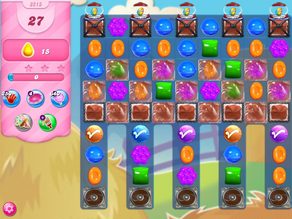 Candy Crush Saga level 3213