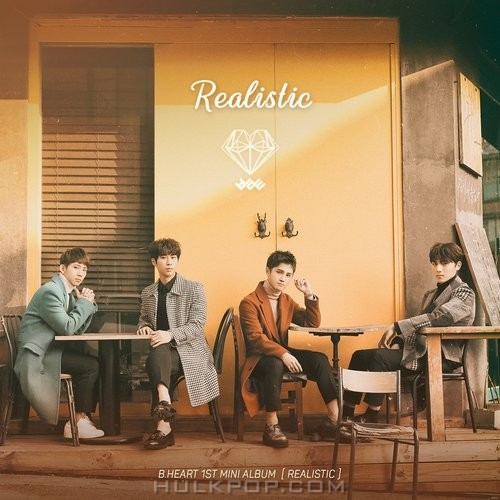 B.HEART – 1st Mini Album `Realistic`