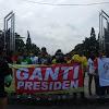 Ada Aksi '2019 Ganti Presiden' di Depan Kampus UGM