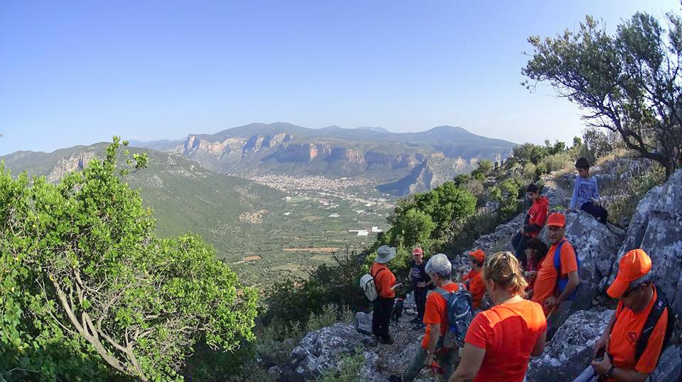 Οι Πεζοπόροι Τυρού περπάτησαν προς Παλαιόκαστρο - Άγιο Αθανάσιο - Τσιτάλια  (βίντεο+εικόνες) | Leonidion.gr