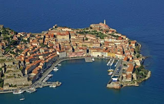 The picturesque port of Portoferraio is the arrival point for visitors to the island of Elba