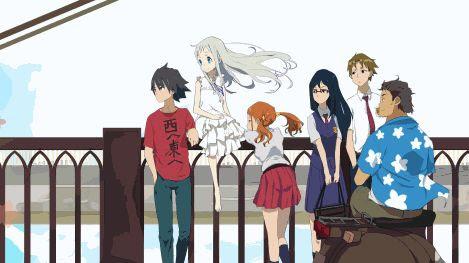 Ano Hana di Rekomendasi Anime Romance - Drama Terbaik
