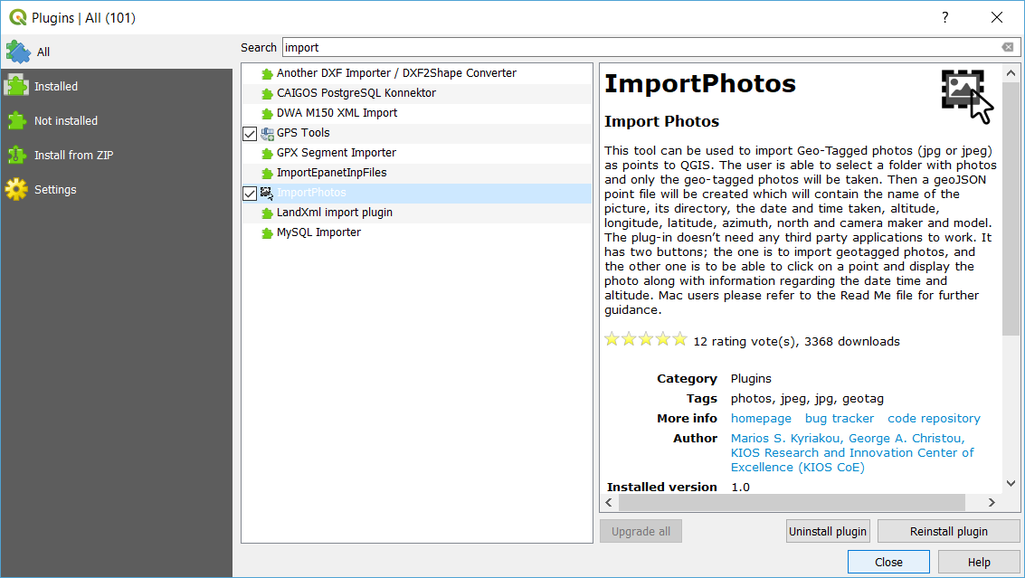 How to Import and Display Geotagged Photos on QGIS to