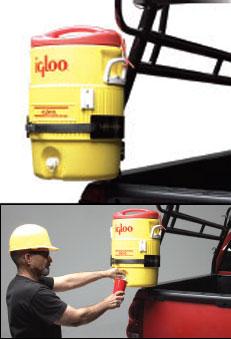 Rack-it Truck Racks: Water Jug Holder Is Helpful Option