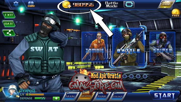 Download All Strike 3D MOD APK terbaru