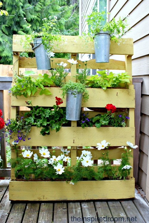 Dishfunctional Designs: Creative Ways To Use Pallets Outdoors U0026 In Your  Garden