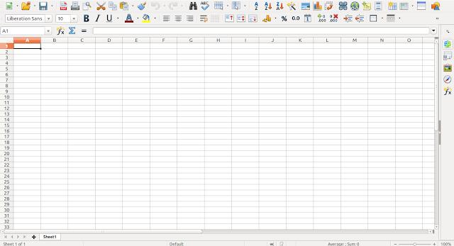 LibreOffice Calc 5.3