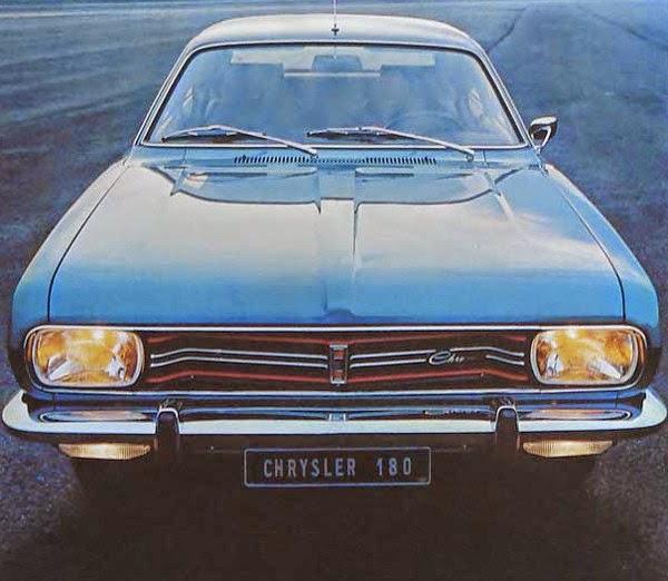 Avengers In Time: 1970, Cars: Chrysler 160 / 160 GT / 180