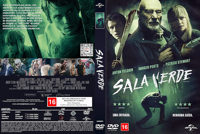 Capa DVD Sala Verde [Exclusiva]
