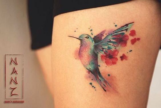 10 lovely hummingbird tattoos for women tattoos