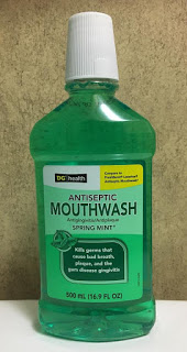 mouthwash, bad breath treatment