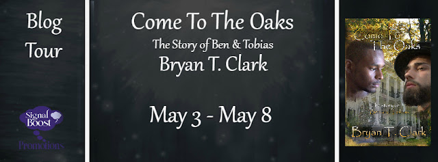 Blog Tour: Character Interview & Giveaway Bryan T. Clark - Come To The Oaks