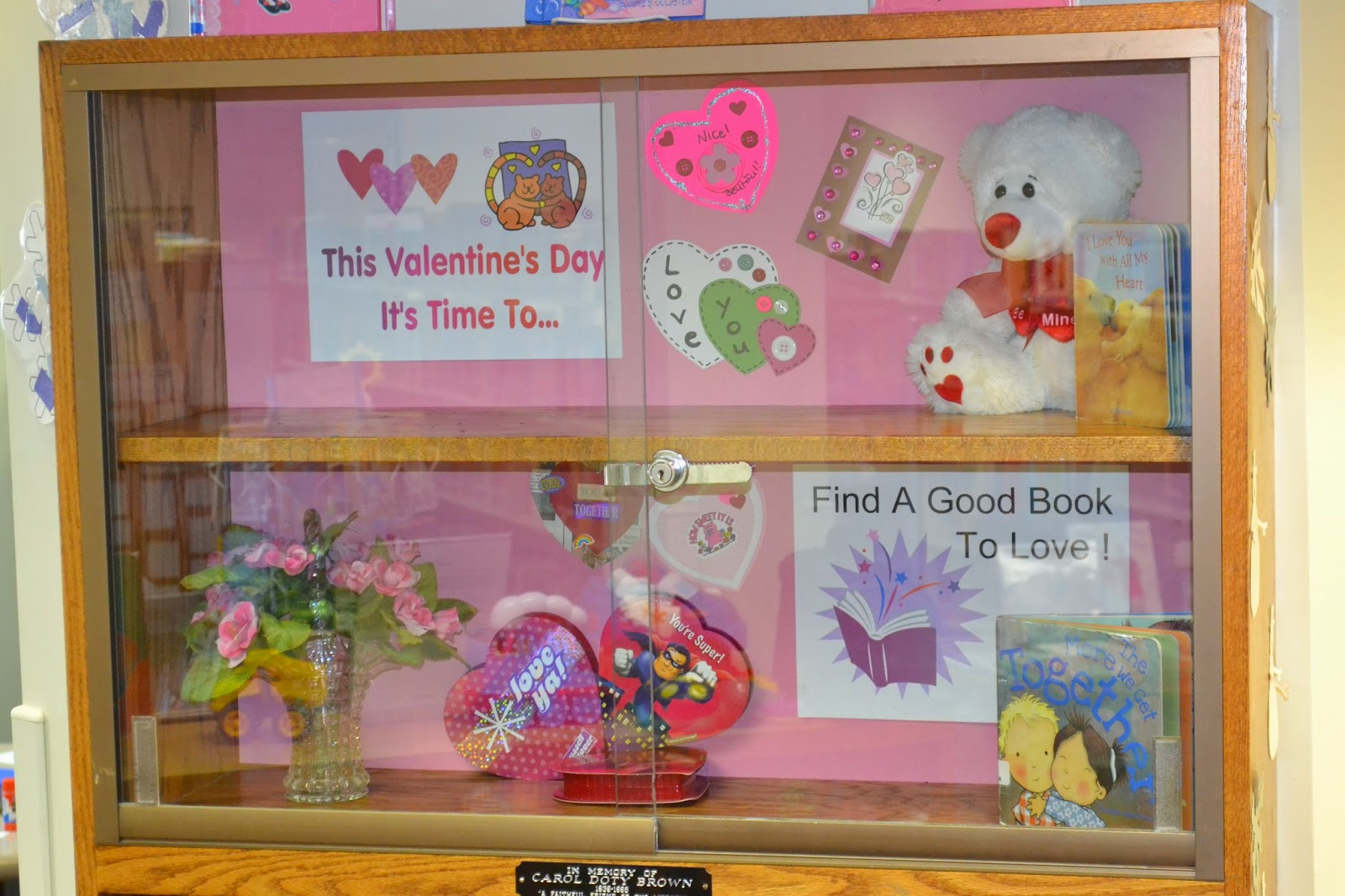 Aileen S Thoughts A Library Display Valentine S Day And