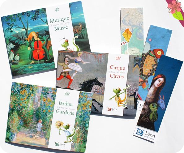 Musique/Music, Jardins/Gardens et Cirque/Circus - Léon art & stories