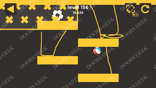 Ball & Ball Level 156 Solution, Walkthrough, Cheats for android and ios