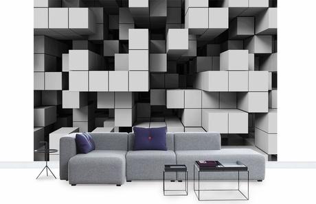3d tapetti tetris lohko