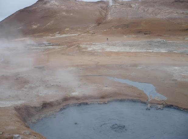 Hverir in Islanda