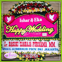 Toko Bunga Papan Pernikahan Jakarta Timur