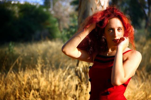 Redhead, spotlights on the redhead, clothes, Anna Keni, Anna, fashion, blogger, fashion blogger, review, red, dress, voodoo, vixen, voodoo vixen, model, hot