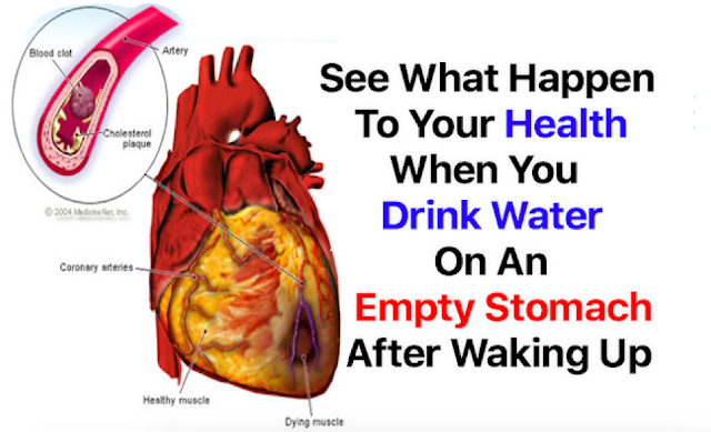 See What Happen To Your Health When You Drink Water On An Empty Stomach After Waking Up