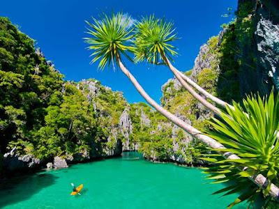 ile Palawan en Indonésie