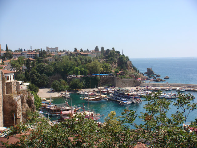Antalya Kale İçi ve liman manzarası