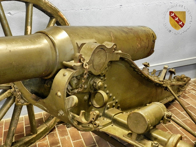 JARVILLE-LA-MALGRANGE (54) - Musée du Fer : Canon de Bange de 90 mm