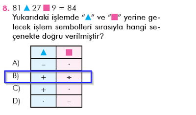 6. Sınıf Matematik MEB Yayınları 20. Sayfa Cevapları İşlem Önceliği