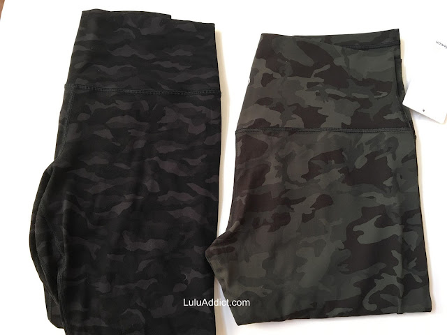 lululemon incognito-camo-gray-gator-green aligns