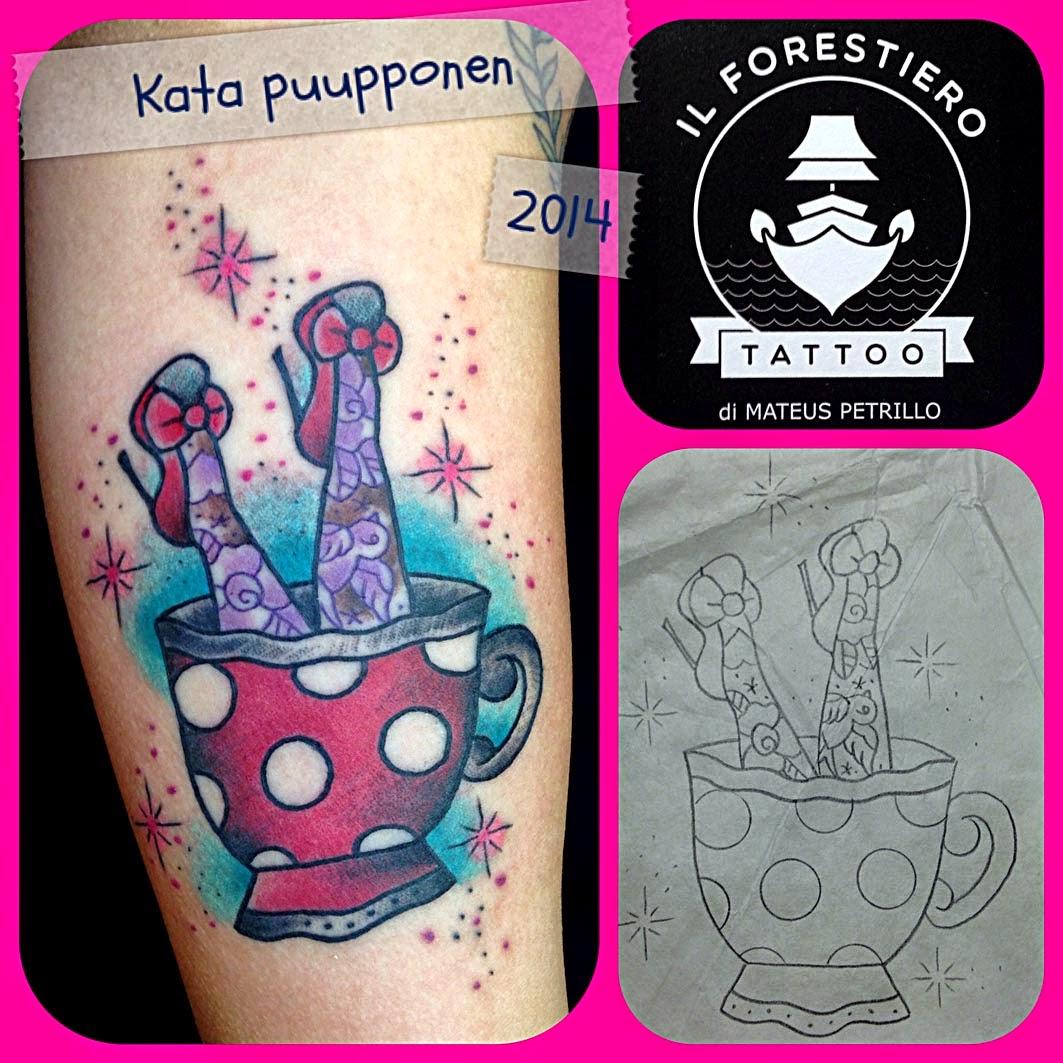 Tattoos By Kata Puupponen: Tattoos By Kata Puupponen: Toukokuuta 2014