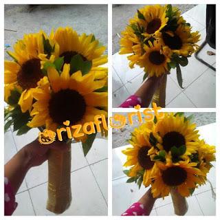 jual bunga matahari surabaya, harga bunga buket surabaya