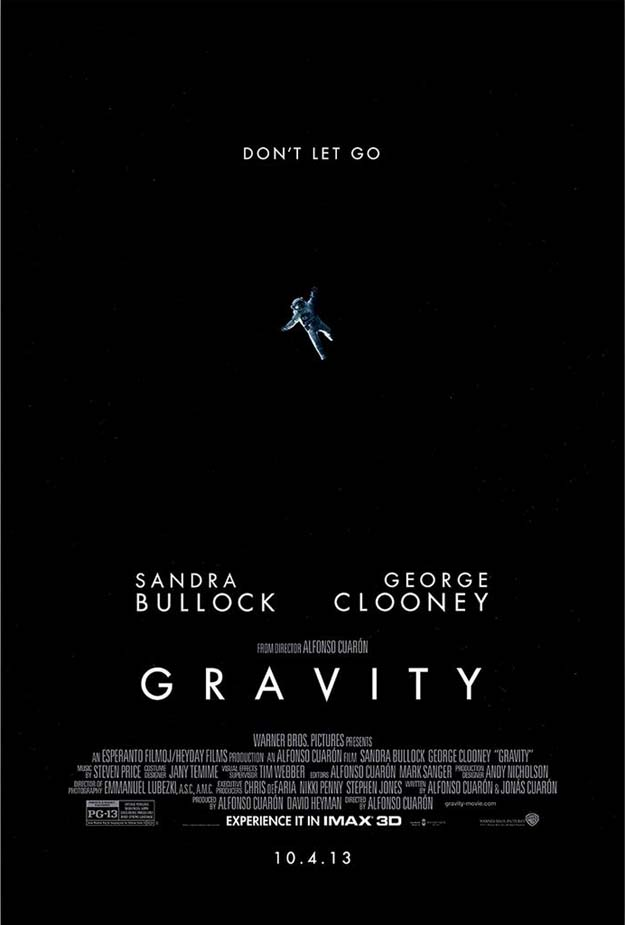 Gravity ~ IMAX 3D Poster | A Constantly Racing Mind.