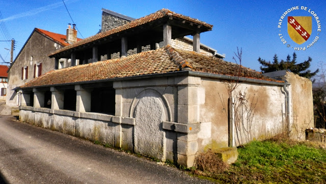 TAILLANCOURT (55) - Le lavoir (XVIIIe-XIXe siècles)