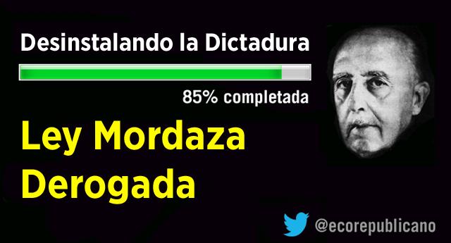 El Congreso aprueba la derogación de la Ley Mordaza del PP