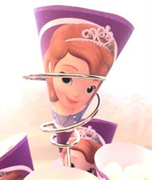 Sofia the First Free Printable Cones