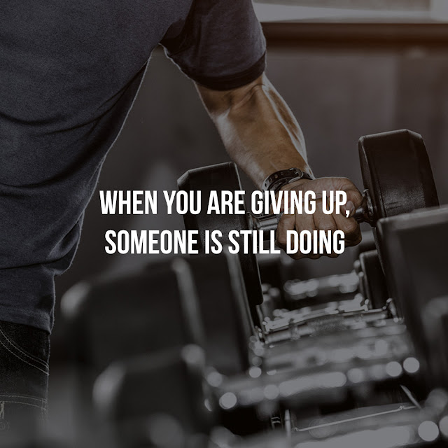gym training quote